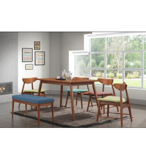 Polio Rubberwood Dining Chair
