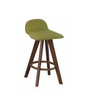 Angus Rubberwood Bar Chair 66cm Seat Height