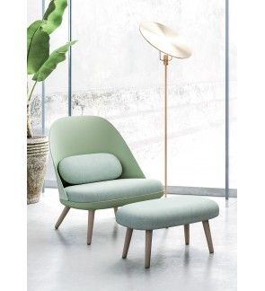 Fionti Relaxing Chair with Stool