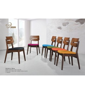 Jento Rubberwood Dining Chair