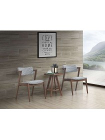 Dinkonq Rubberwood Dining Chair