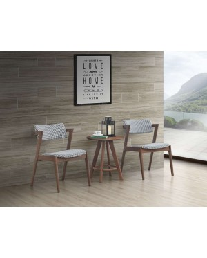 Dinkonq Rubberwood Dining Chair