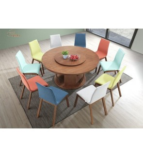 Lonsome Rubberwood Dining Chair