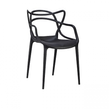 E HOME FURNITURE (Set of 4 unit) Stackable PP Chair/ Dining Chair/ Polypropylene Dining Chair
