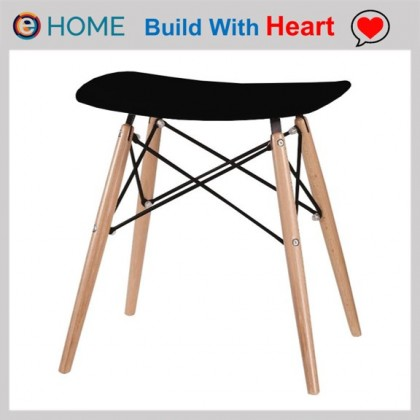 E HOME FURNITURE (Set of 2 unit) Eames Stool / PP Low Stool
